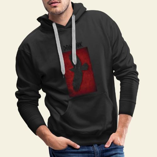 ravnefanen - Herre Premium hættetrøje