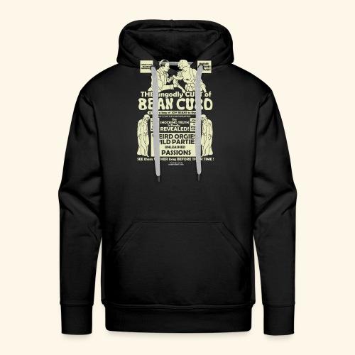 Vegan Tofu T Shirt Design Bean Curd - Männer Premium Hoodie