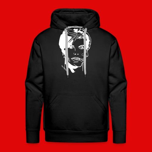 double face T-shirts - Sweat-shirt à capuche Premium pour hommes