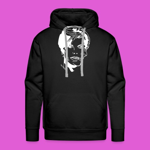 double face T-shirts - Sweat-shirt à capuche Premium pour hommes
