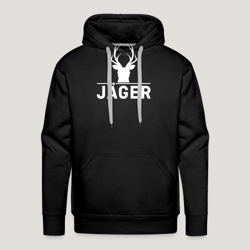 Jäger! Jäger Shirt Jaeger - Männer Premium Hoodie