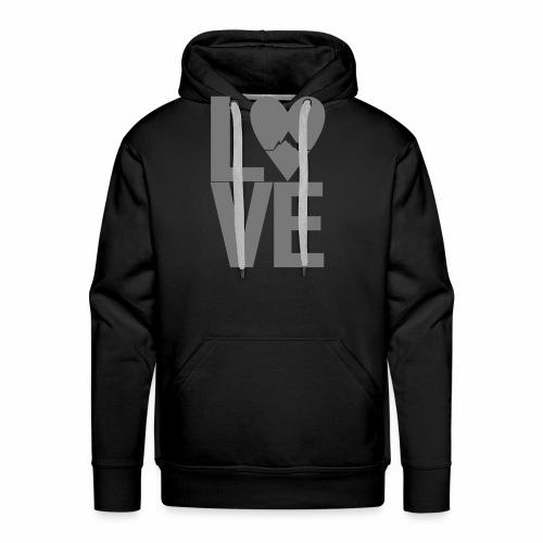 Mountain Love - Männer Premium Hoodie