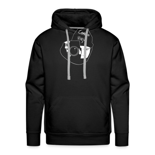Camera Ninja Reversed - Men's Premium Hoodie