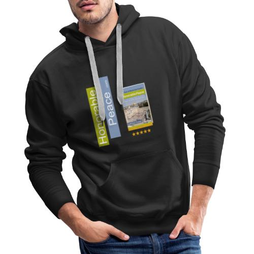 Honorable Peace by Gottfried Hutter - Männer Premium Hoodie