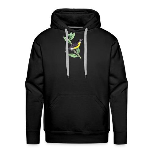 bird yellow-black - Männer Premium Hoodie