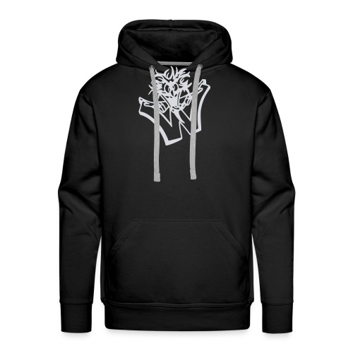 w wahnsinn - Mannen Premium hoodie