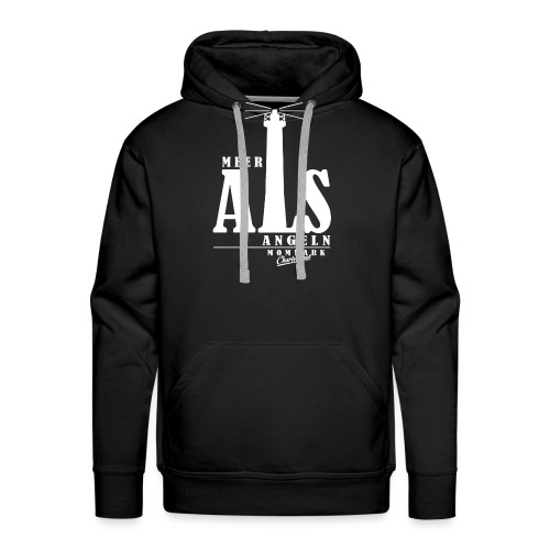 Meer ALS Angeln 2.0 - Männer Premium Hoodie
