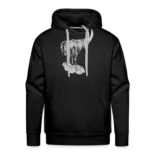 Trinkflasche STEINBOCK - Männer Premium Hoodie