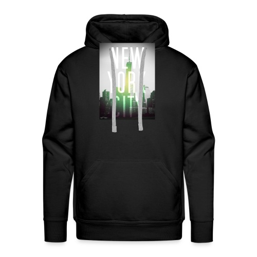 New York Green - Männer Premium Hoodie