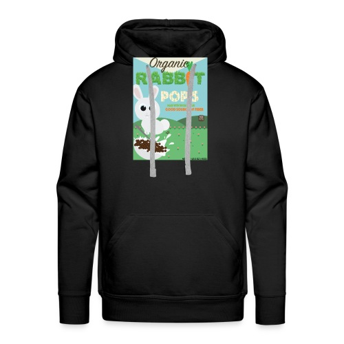 Rabbit pops - Sweat-shirt à capuche Premium pour hommes