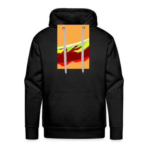 new003 jpg - Mannen Premium hoodie