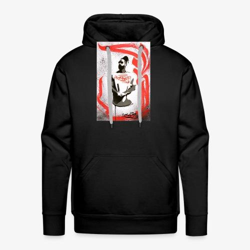 Graffiti - Sweat-shirt à capuche Premium pour hommes