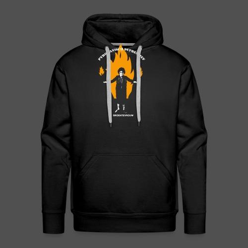 Pyromanisch Depressief (v) - Mannen Premium hoodie