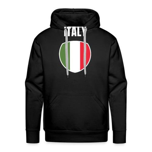 Pays Italie - Sweat-shirt à capuche Premium pour hommes