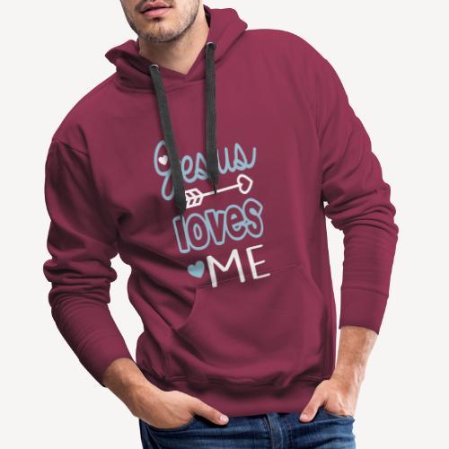 JESUS LOVES ME - Men's Premium Hoodie