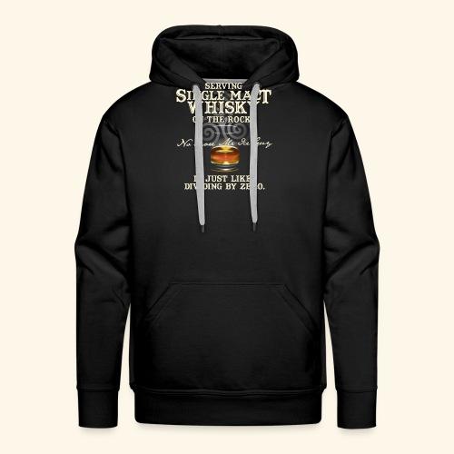 Whisky T-Shirt Single Malt Whisky - Männer Premium Hoodie