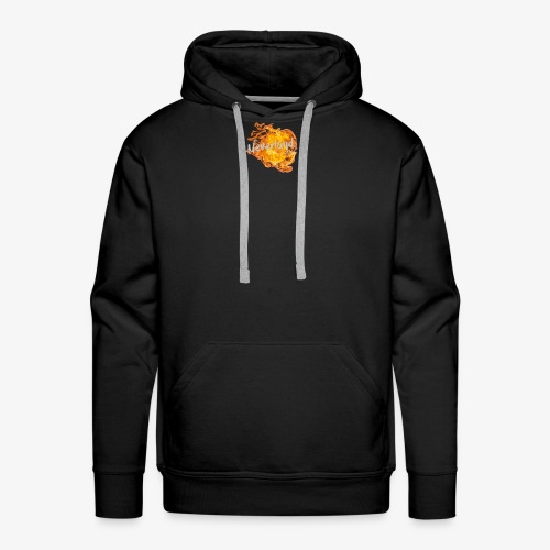 NeverLand Fire - Mannen Premium hoodie