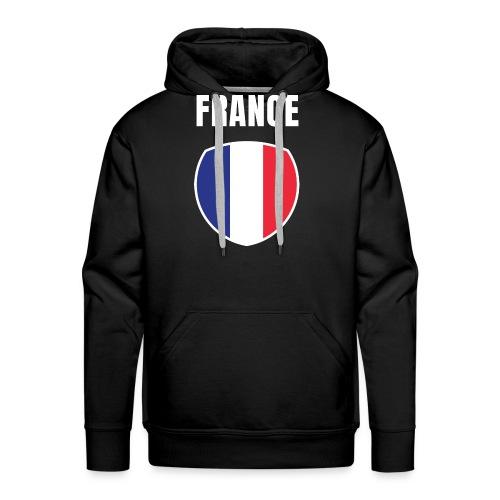 Pays France - Sweat-shirt à capuche Premium pour hommes