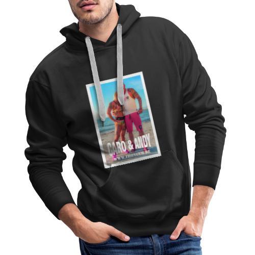 caro andy 01 - Sudadera con capucha premium para hombre