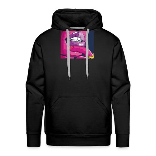 Guilty Lips - Mannen Premium hoodie