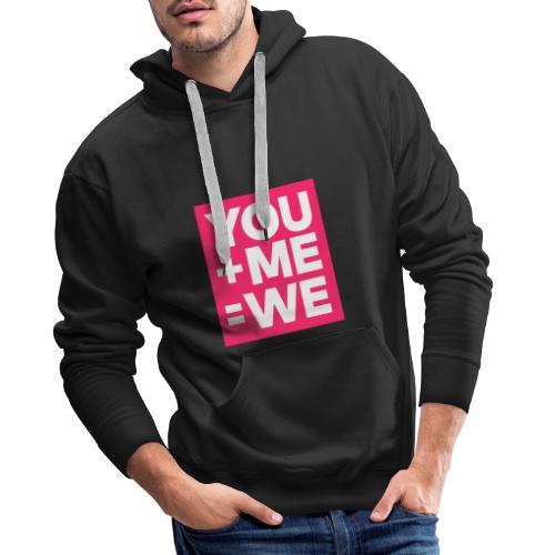 lov - Sweat-shirt à capuche Premium pour hommes