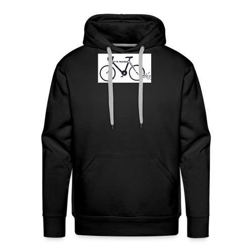Machine_écrabouille_sexistes - Sweat-shirt à capuche Premium pour hommes