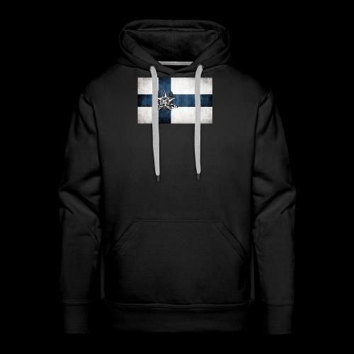Suomen lippu - Miesten premium-huppari