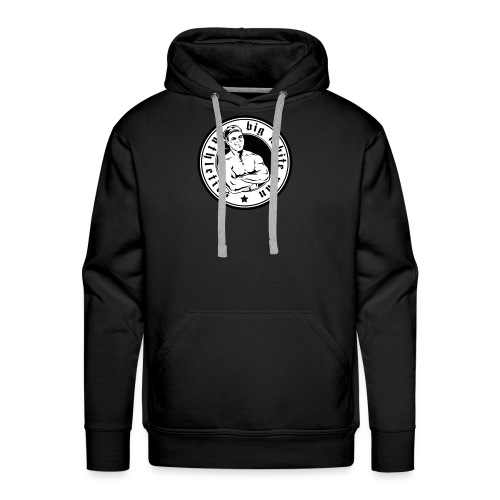 Big White Man Germany Athletics - Männer Premium Hoodie
