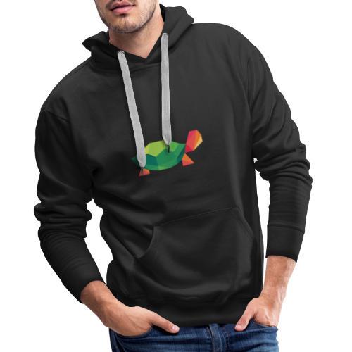 Geometric Turtle - Men's Premium Hoodie