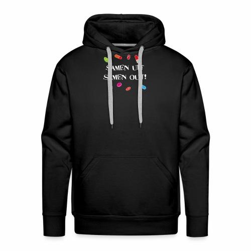 Samen uit samen out - Mannen Premium hoodie