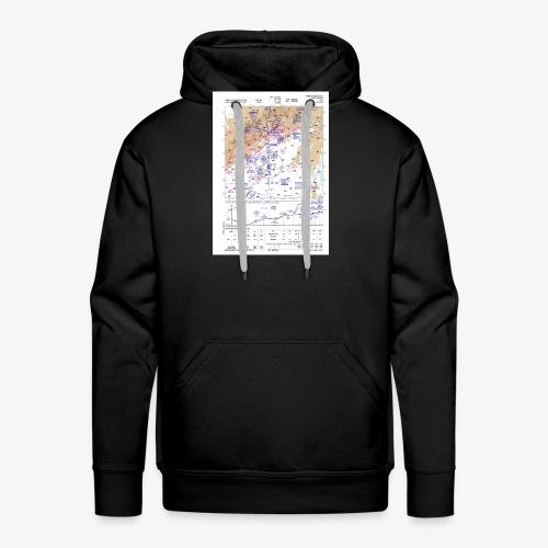 LEMD ILS - Sudadera con capucha premium para hombre
