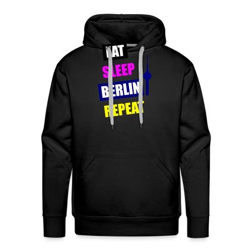 EAT SLEEP BERLIN SPECIAL - Männer Premium Hoodie