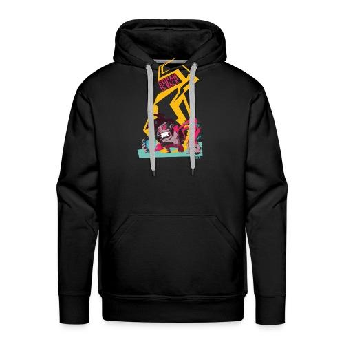 gohan dbz monkey - Sweat-shirt à capuche Premium pour hommes