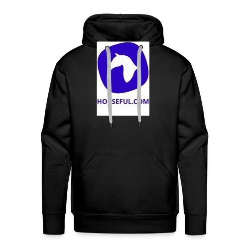 Horseful.com - Logo - Männer Premium Hoodie