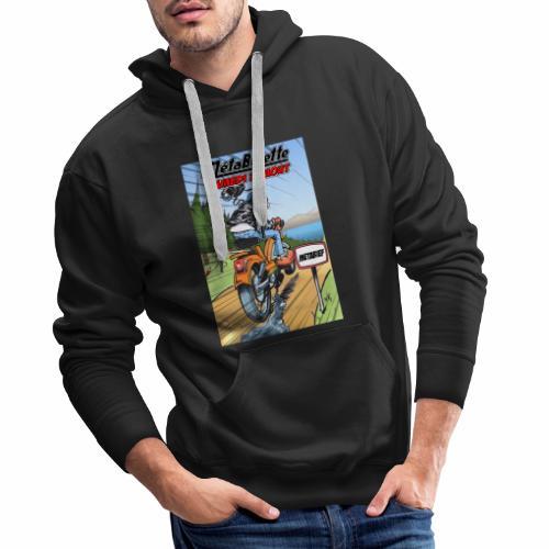 Affiche 2019 - Sweat-shirt à capuche Premium pour hommes
