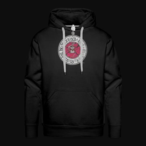 L'horloge de la mort - Sweat-shirt à capuche Premium pour hommes