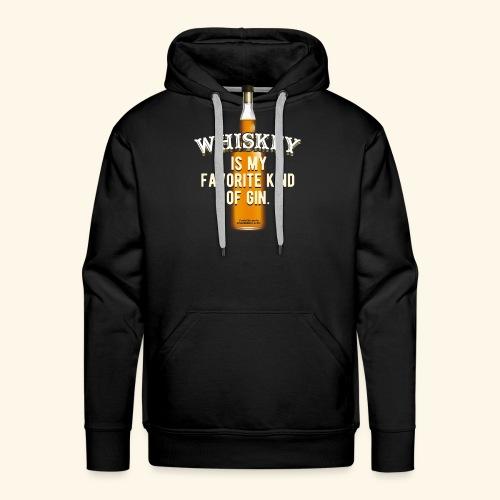 Whiskey Sprüche Für Clevere Leute - Männer Premium Hoodie