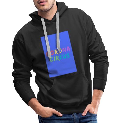 CORONA CIRCUS 3 - Sweat-shirt à capuche Premium pour hommes
