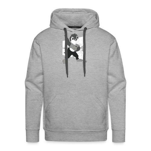 Le pingouin de Nice - Sweat-shirt à capuche Premium pour hommes