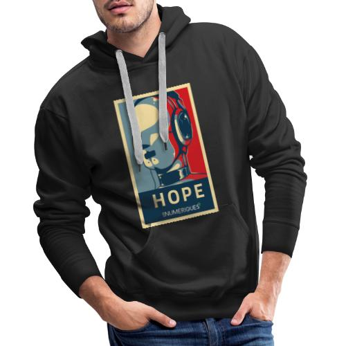Rick Les Numériques - Sweat-shirt à capuche Premium pour hommes