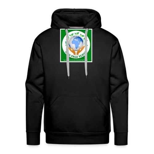 sac bio - Sweat-shirt à capuche Premium pour hommes