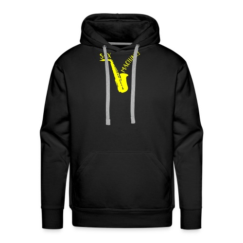 SAX MACHINE ! - Sweat-shirt à capuche Premium pour hommes