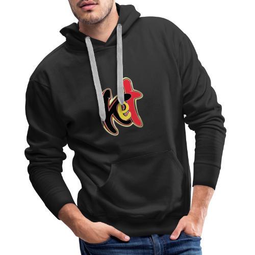Ket - Sweat-shirt à capuche Premium pour hommes