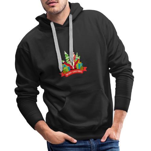 Santa Claus - Sudadera con capucha premium para hombre