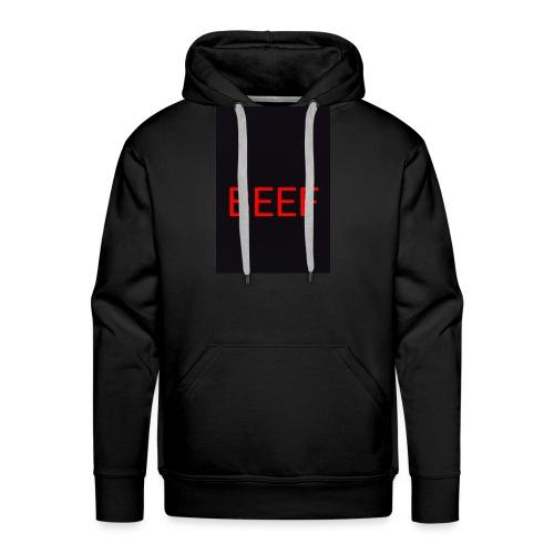 Beef red - Männer Premium Hoodie
