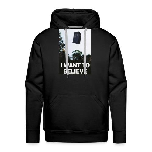 I Want To Believe - Männer Premium Hoodie