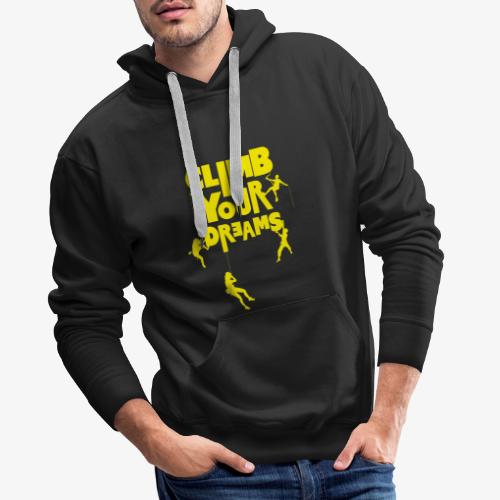 Scale your dreams - Men's Premium Hoodie