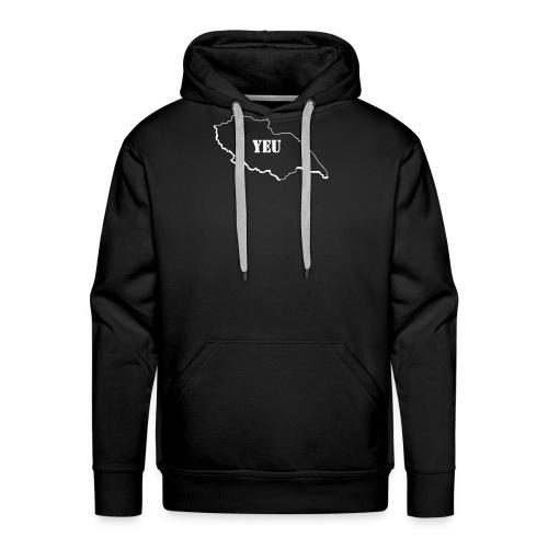 Dessin_de_YEU - Sweat-shirt à capuche Premium pour hommes