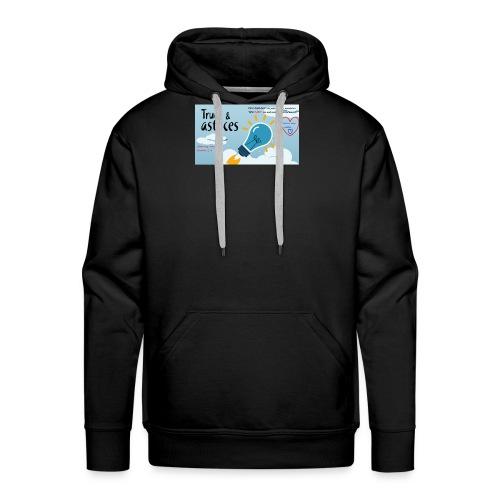 Les astuces de mansour - Sweat-shirt à capuche Premium pour hommes