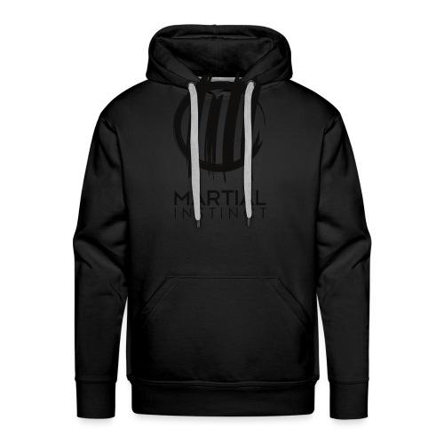 MARTIAL INSTINCT - Black Logo (vorne) - Männer Premium Hoodie